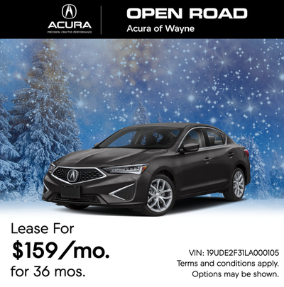 Open Road Acura >> New Specials